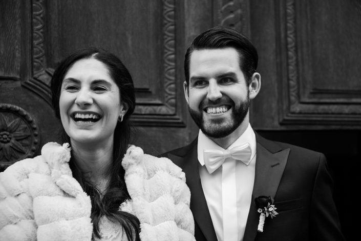People Photography, Romantic Dinkelsbuehl, Winter Wedding, Happy Bride Pair