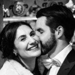 People Photography, Romantic Dinkelsbuehl, Winter Wedding, Happy Bride
