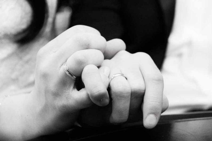 People Fotografie Eheversprechen der frisch Vermählten